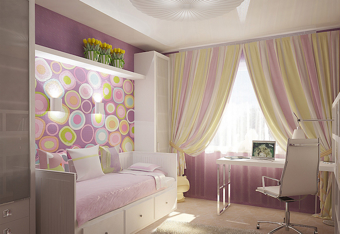 amnagement petite chambre ado fille affordable coin bureau enfant chambre garcon amenagement. Black Bedroom Furniture Sets. Home Design Ideas