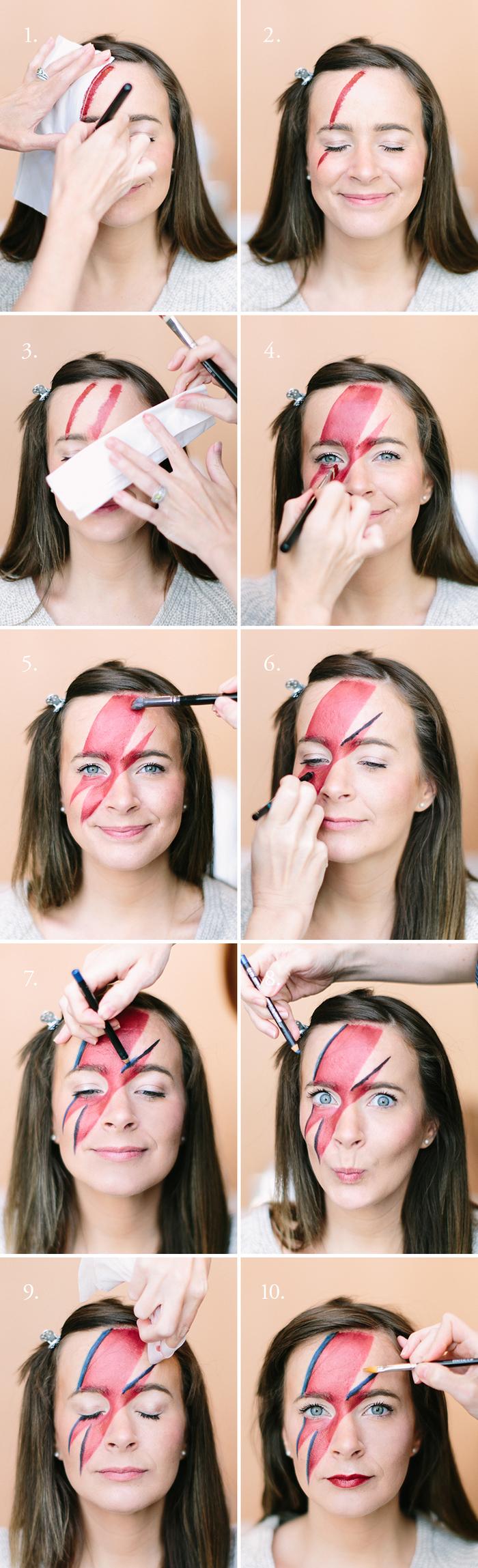 1001 Idees Pour Un Maquillage Halloween Facile De Derniere Minute