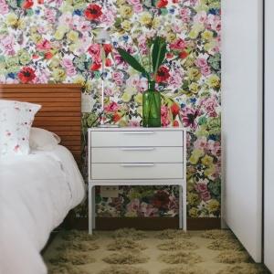 Papier peint chambre - un guide avec plus de 80 idées pour choisir un revêtement mural tendance