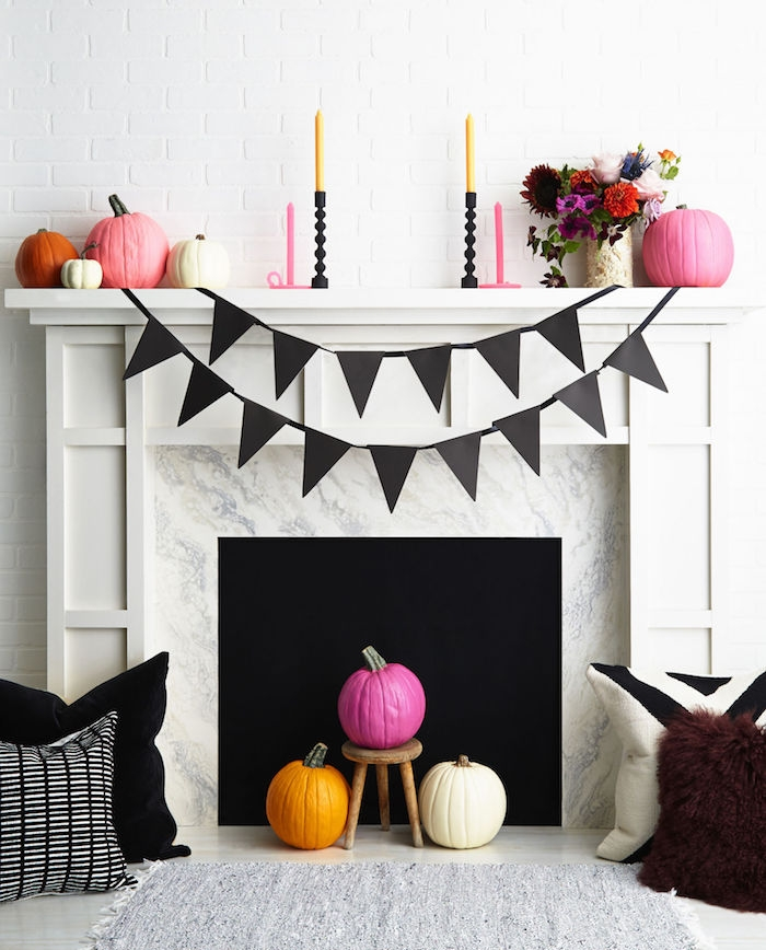 Activit manuelle halloween 90 id es cr atives de - Deco de table halloween a faire soi meme ...