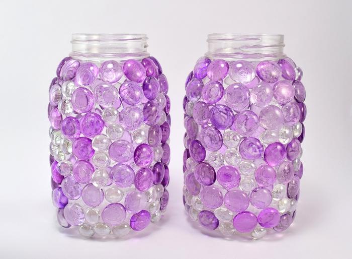 comment fabriquer une lampe aux pierres gemmes qui donne de jolies lumières colorées