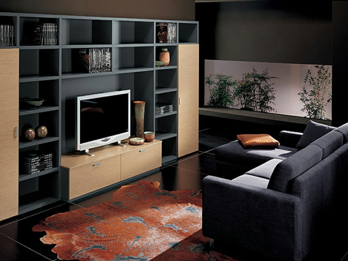 1001 id es de d coration pour votre salon cosy et beau for Very small living room designs with tv