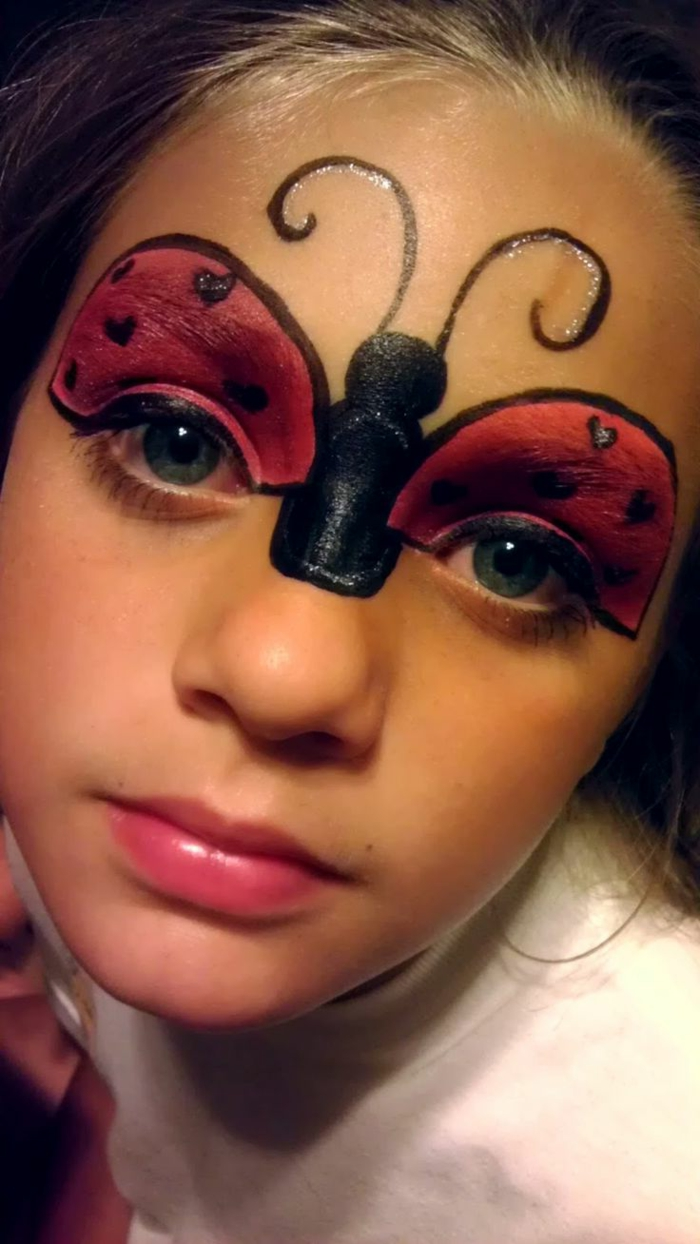 1001 id es cr atives pour maquillage pour enfants - Image maquillage halloween ...