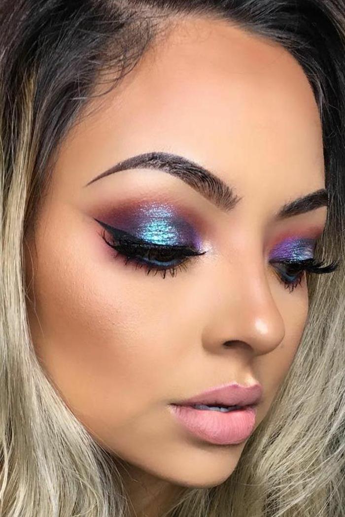 1001 Idées Fabuleuses De Maquillage Reine Des Neiges