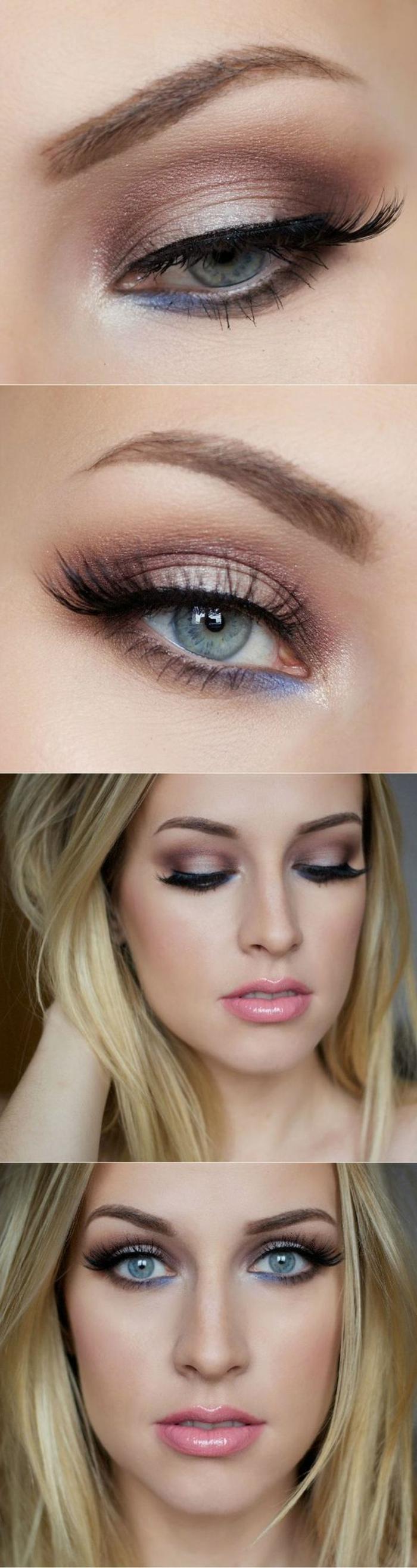 maquillage yeux verts comment se maquiller les yeux pour aller au bureau et pour les activités dans la journée