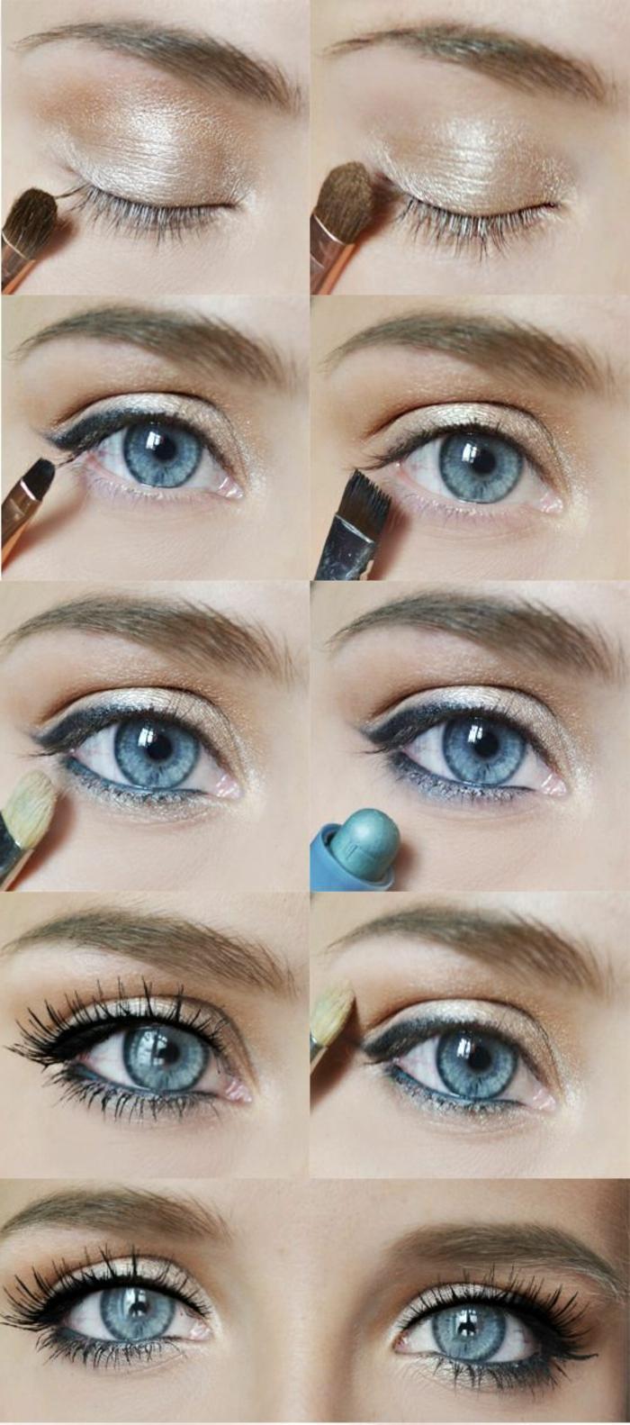 Bien-aimé ▷ 1001+ Idées sur comment se maquiller les yeux + les looks de la  MH48