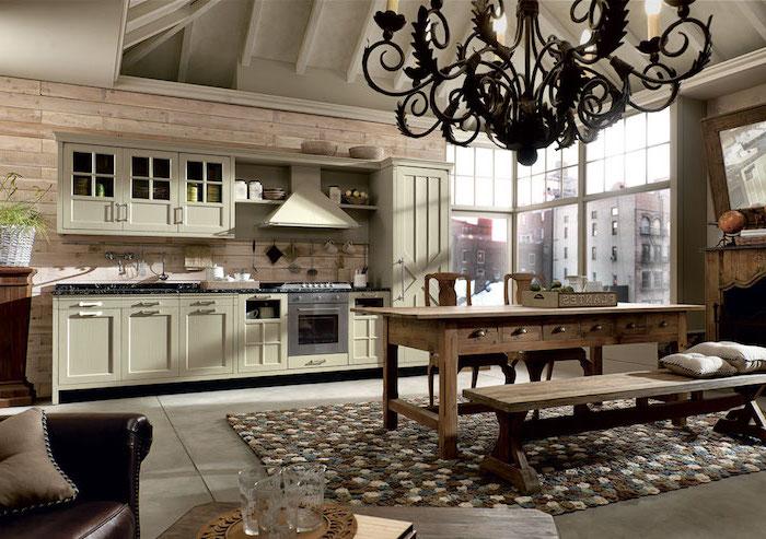 1001 astuces comment am nager une cuisine en longueur - Revetement table cuisine ...