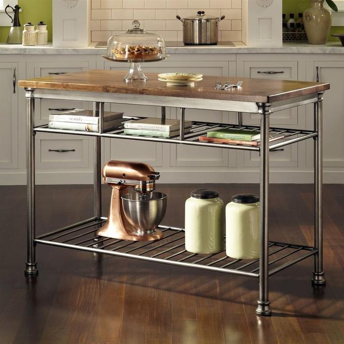 le meuble industriel associe la fonctionnalité à son rôle décoratif