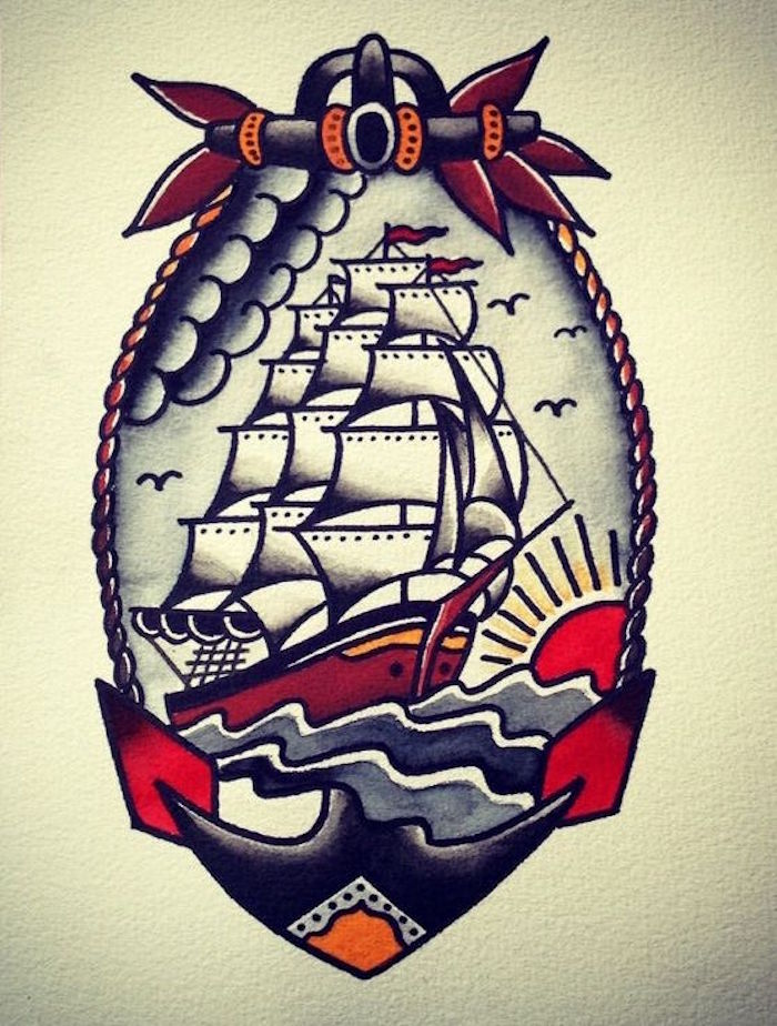 1001 Idees Tatouage Pirate A L Abordage En 40 Photos