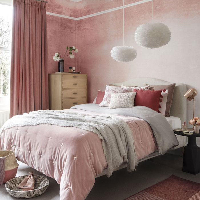 Stunning Chambre Bois De Rose Pictures - Design Trends 2017 ...