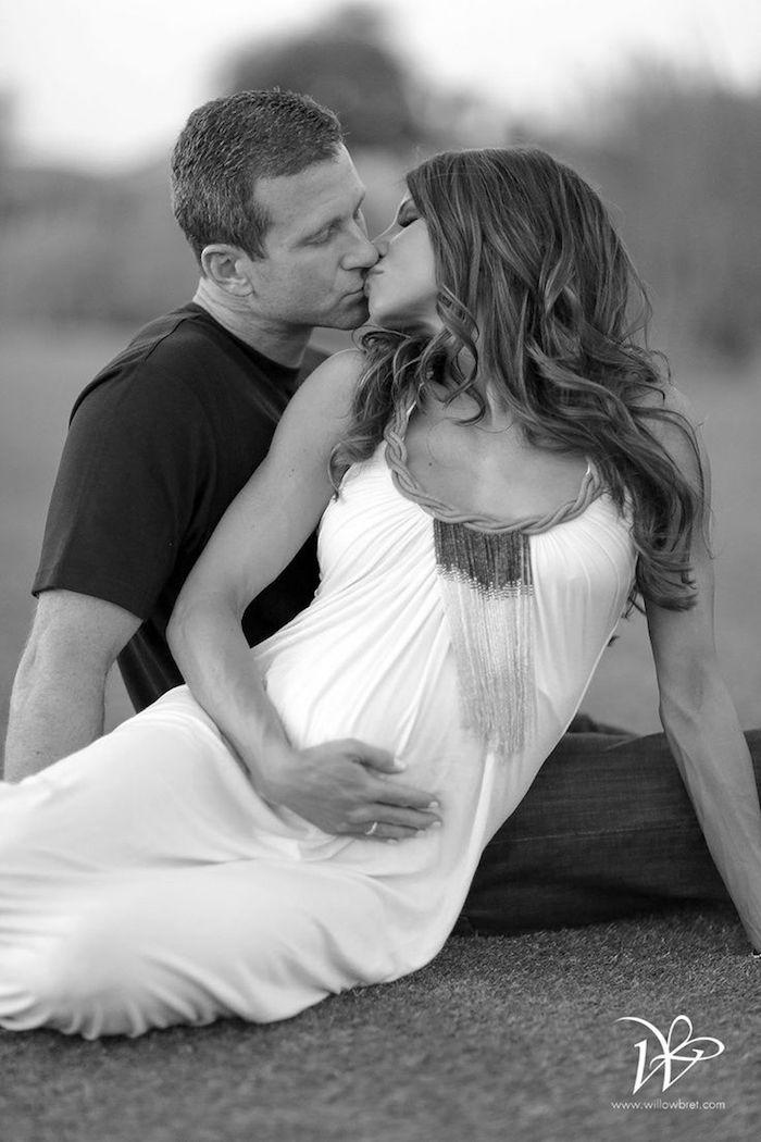 1001 Idées Photo Grossesse Couple 1 2 3 Souriez