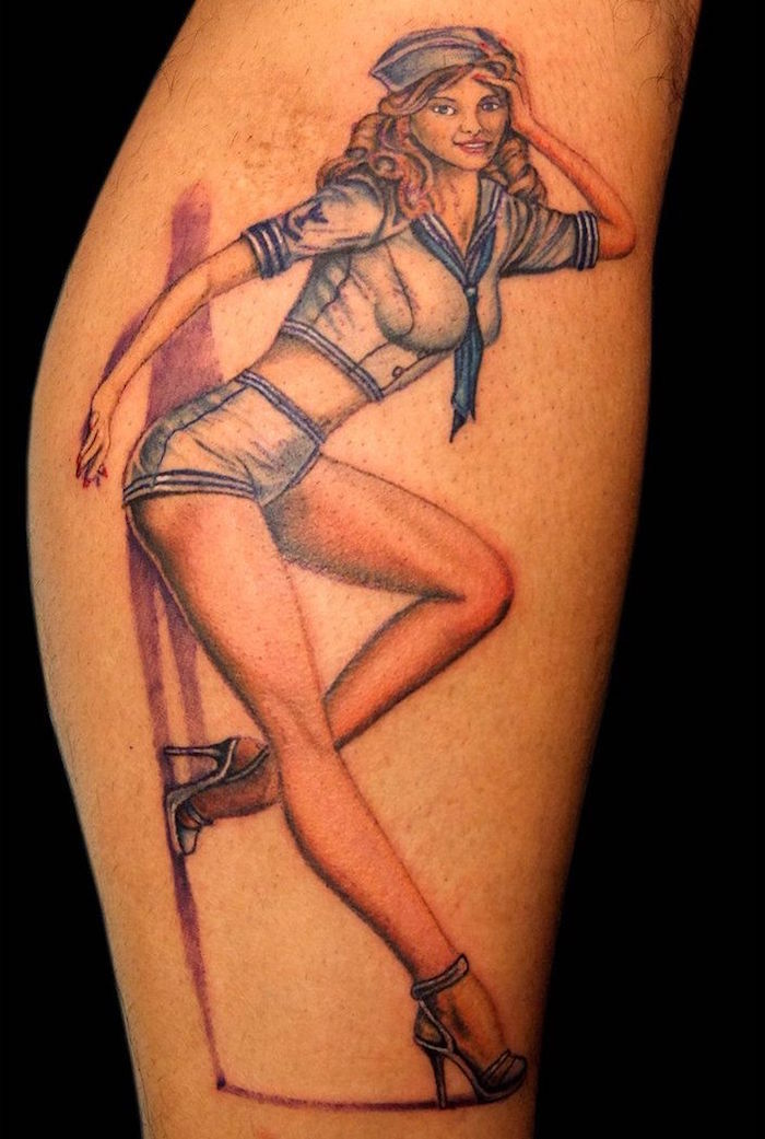 from Kendrick naked pin up girls tattoos