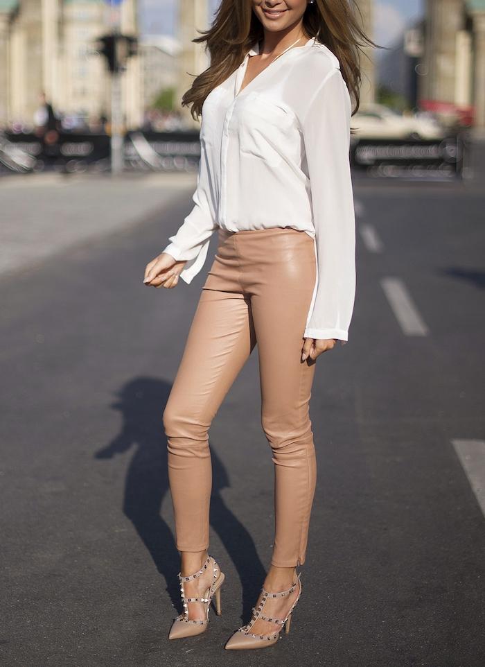 Chaussures beiges Fashion femme JIfHuAoJ