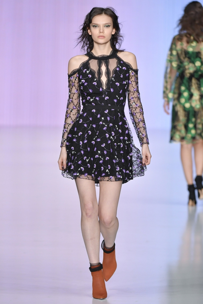 robe de fete Yasia Minochkina robe pour noel mode russe