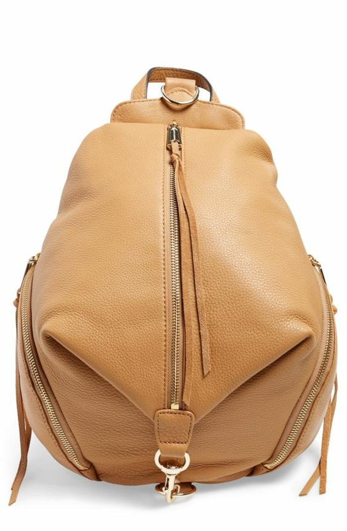 sac a dos vintage Nordstrom en couleur beige clair type besace moelleuse au toucher