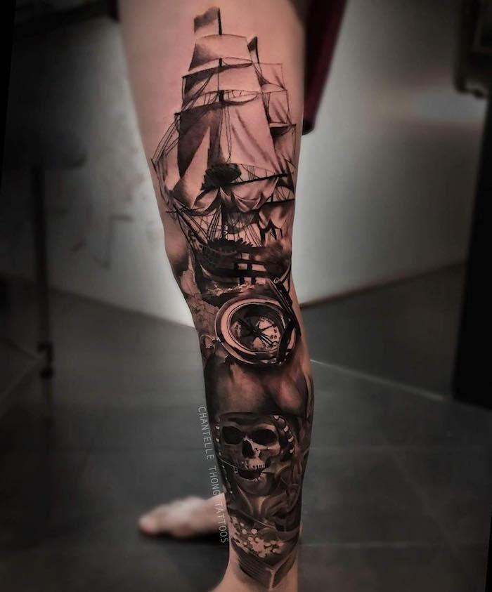 ▷ 1001+ idées | tatouage pirate - À l'abordage en 40 photos