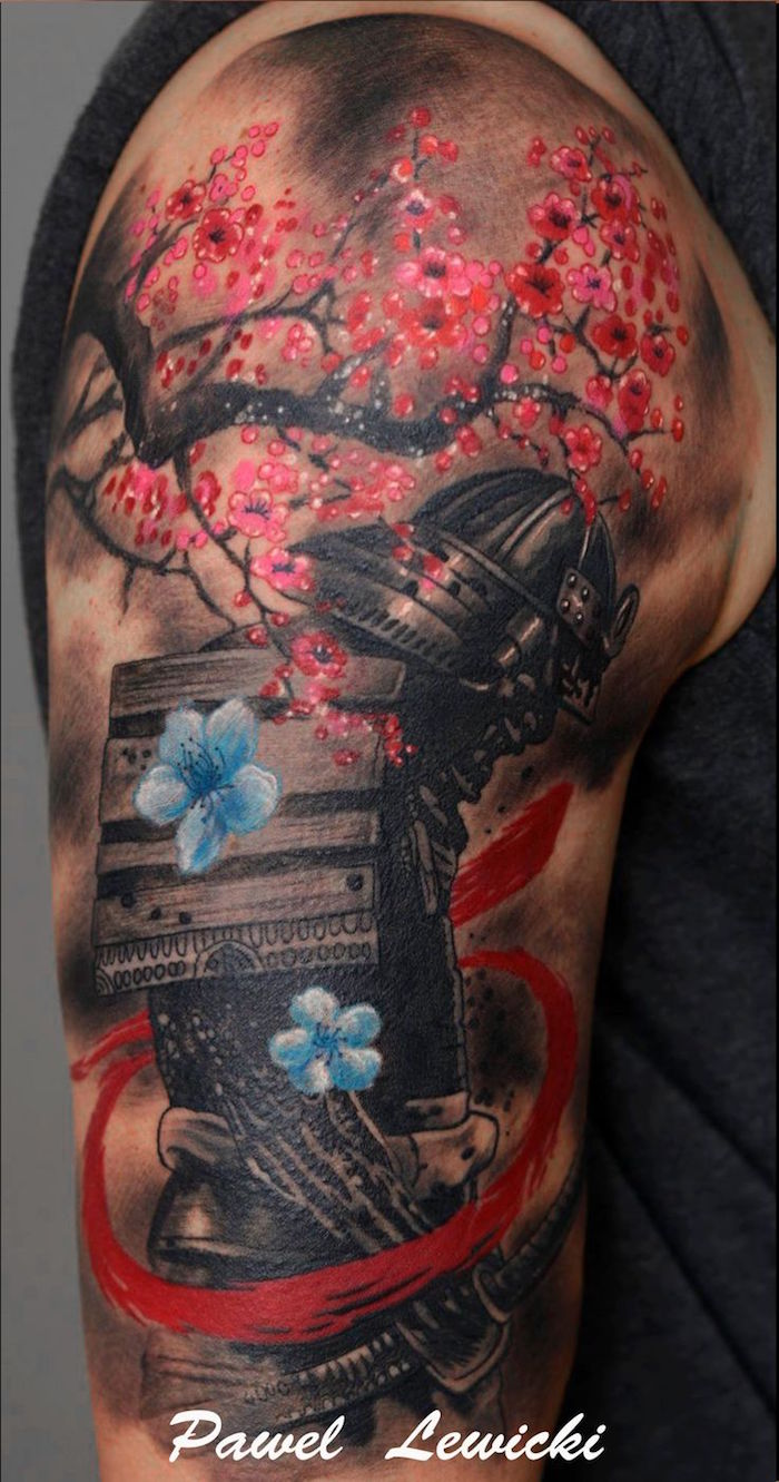 1001 Idees Tatouage Samourai Le Tattoo Des Guerriers