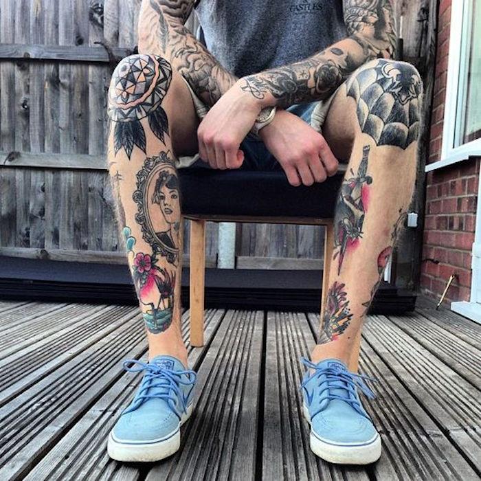 1001 Idees Tatouage Jambe Faites Vous En De Belles En 50 Photos