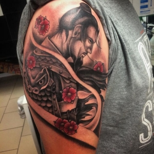 Tatouage samourai – Le tattoo des guerriers