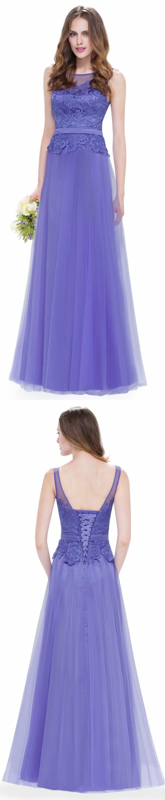 robes pour mariage en lila dame d honneur ou mariée buste avec des lacets en soie lila