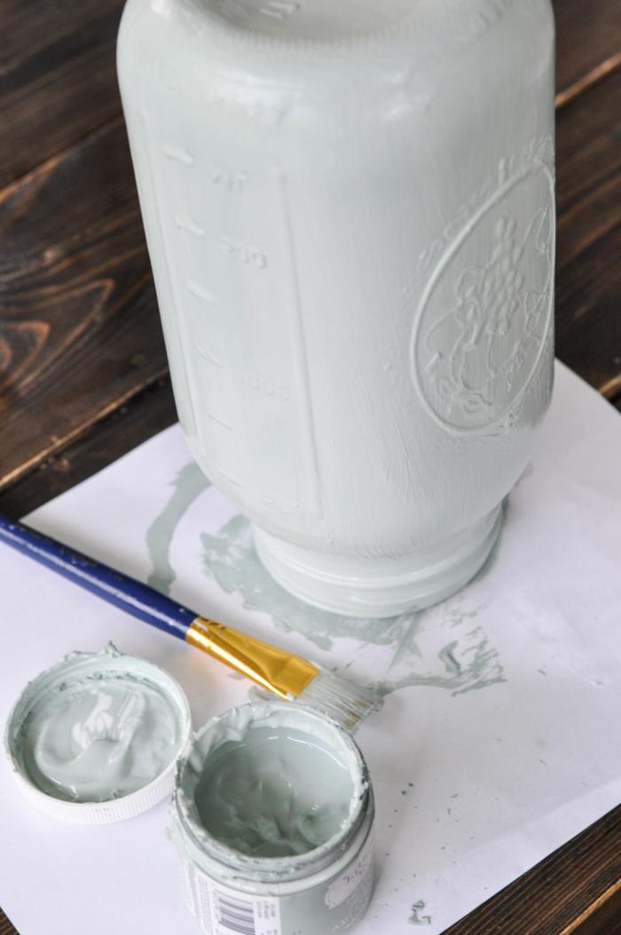 1001 id es de bricolage recyclage d 39 une lampe bocal for Verre pour lampe de chevet