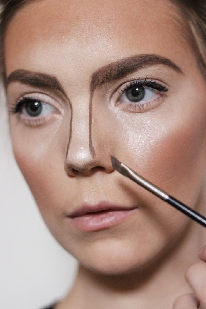 Maquillage halloween femme facile tuto - Comment faire un maquillage de clown qui fait peur ...