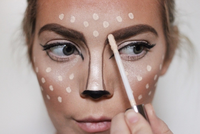 Maquillage halloween homme facile tuto - Maquillage facile pour halloween ...