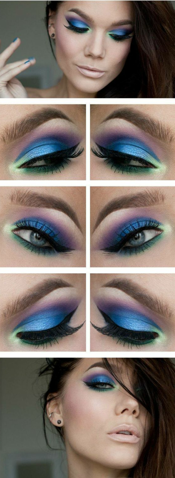Tuto maquillage yeux vert fashion designs - Tuto maquillage yeux ...