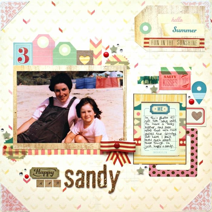 cadeaux personnalisés, faire une carte surprise avec photo et papier coloré, embellissement scrapbooking en papier