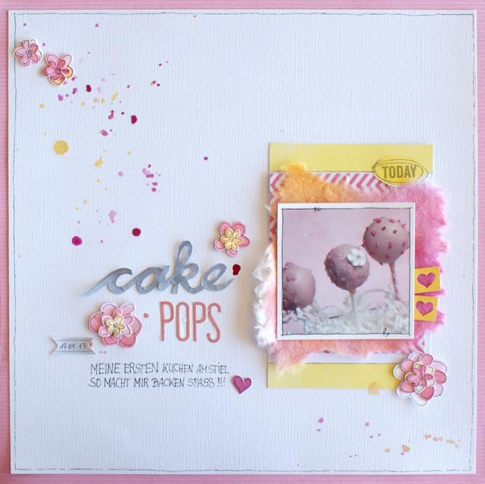 cadeaux personnalisés, faire une carte scrapbooking, carte au papier blanc avec déco en peintures jaune et rose