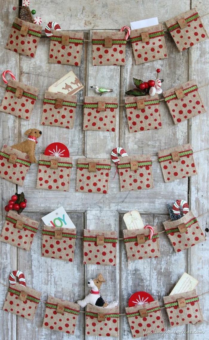 calendrier de l'avant à fabriquer, quel calendrier original créer à l'attente de Noel
