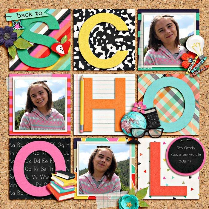activité manuelle maternelle, surprise pour la nouvelle année scolaire avec photos et stickers autocollants