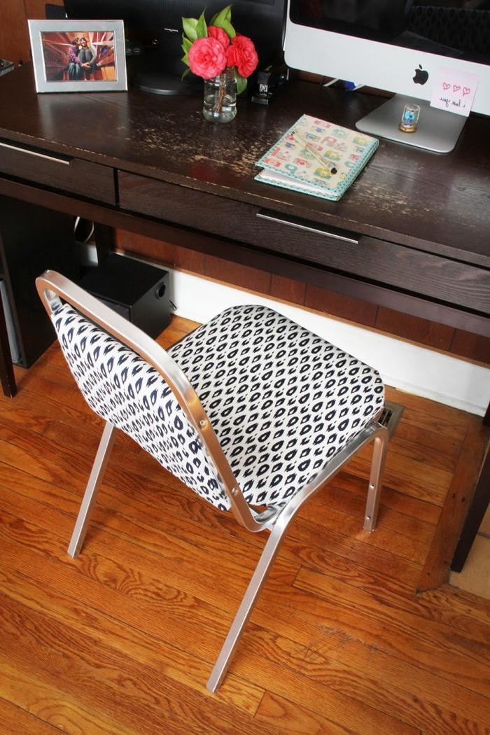 comment relooker des chaises de bureau pour leur donner un aspect élégant et chic