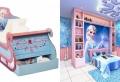 Trucs de magiciens pour créer une chambre reine des neiges. 94 photos pour vous émerveiller.