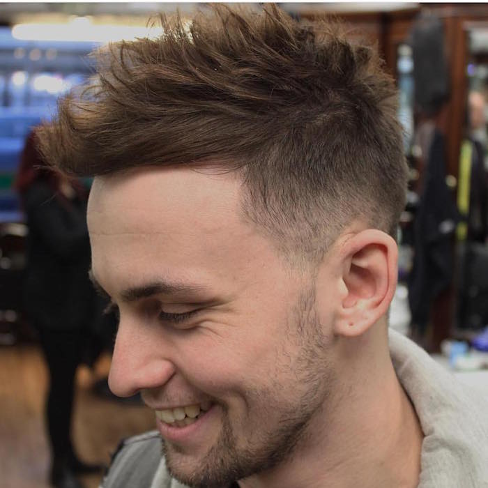 coupe degradee homme coiffure homme degrade