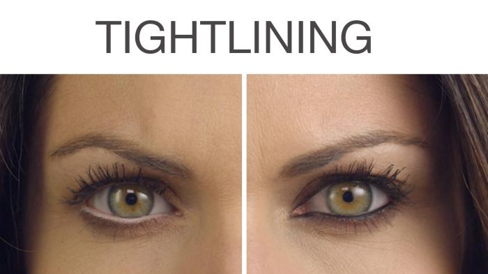 apprendre a se maquiller, comment mettre le crayon noir sur les yeux, maquillage avec mascara et crayon noirs