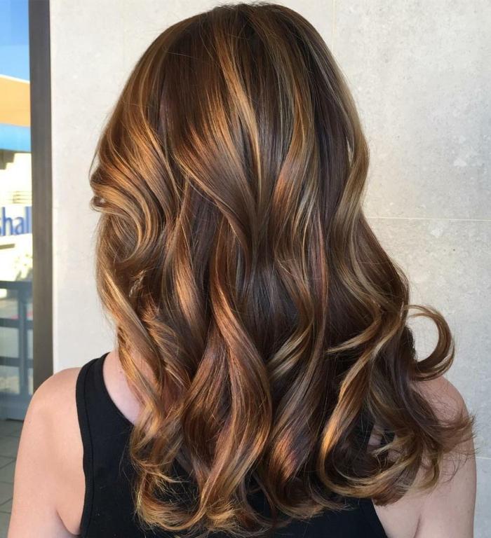 1001 Exemples De Couleur De Cheveux Chocolat