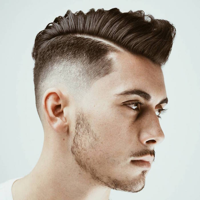 Coupe degrade homme dessus
