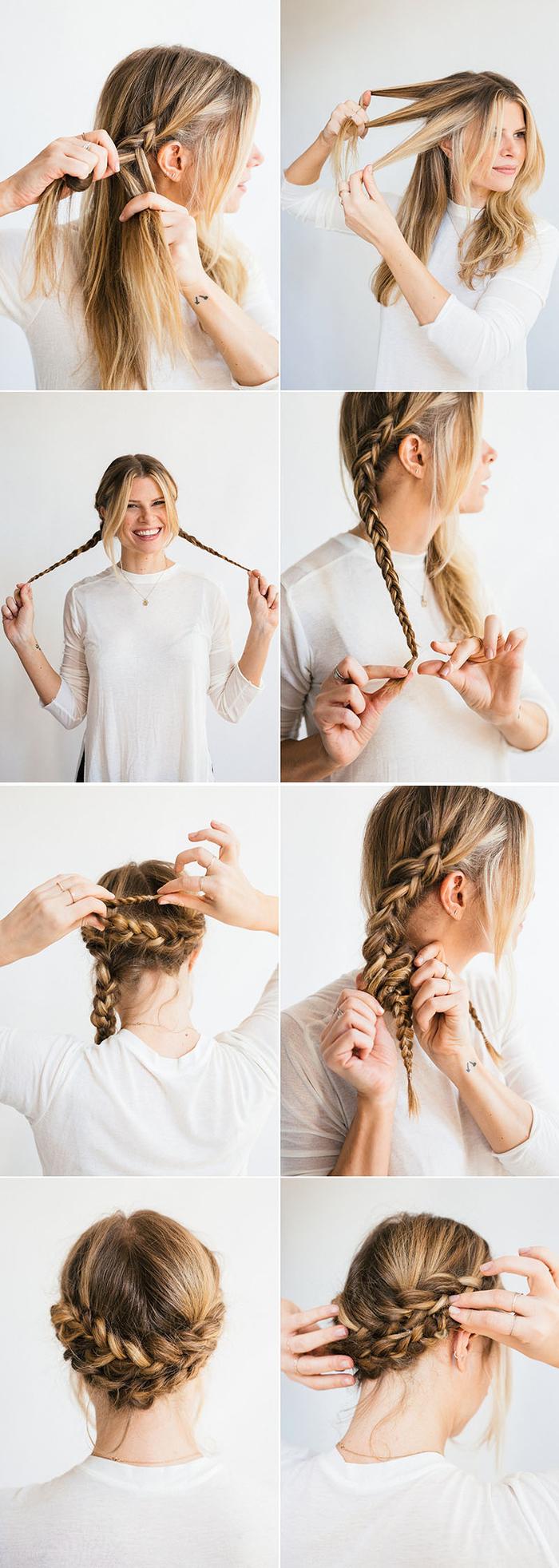 Chignon Coiffé Décoiffé Facile intérieur ▷ 1001+ idées pour une coiffure facile réalisée en rien de temps