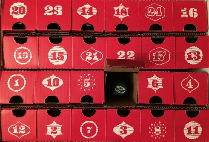calendrier de l'avent avec une bière pour chaque jour, idées handcraft originales