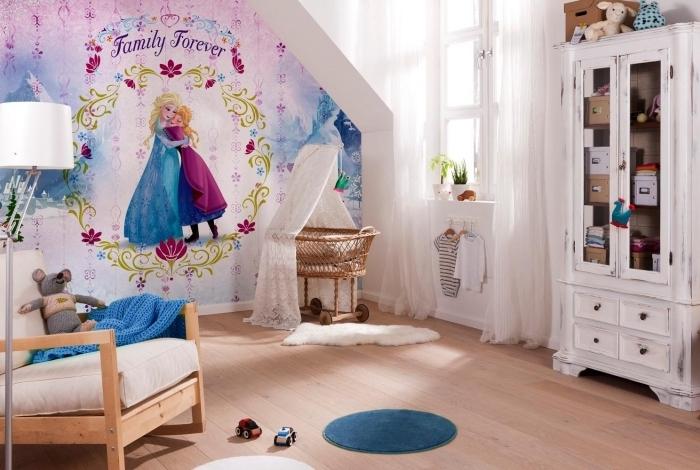 1001 astuces et conseils pour cr er la chambre reine des neiges parfaite - Deco slaapkamer meisje jaar ...