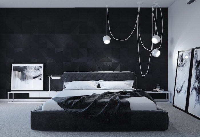 1001 id es pour choisir une couleur chambre adulte. Black Bedroom Furniture Sets. Home Design Ideas