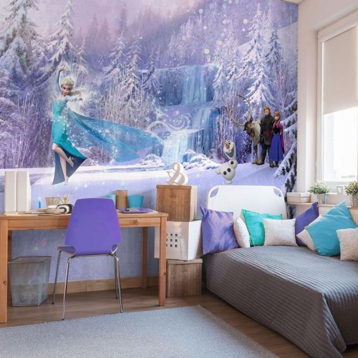 1001 astuces et conseils pour cr er la chambre reine des neiges parfaite - Reine des neiges chambre ...