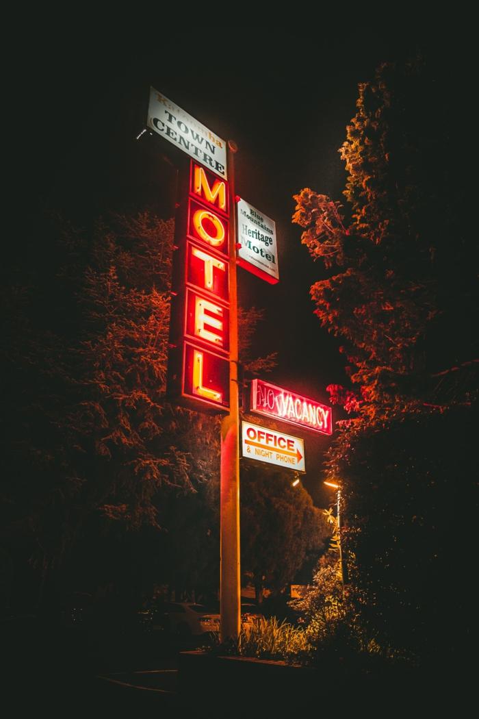 Décoratif fond d écran iphone 5 fond d écran iphone hd Halloween motel effrayant nuit