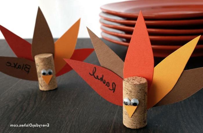 Festive decoration idee en liege de bouteilles que faire avec bouchons de liege