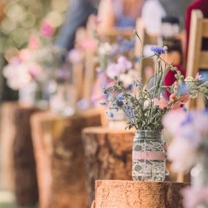 Décoration champêtre pour un mariage de rêve - plus de 110 idées féeriques