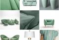 Plus de 70 exemples déco pour adopter l'indémodable vert céladon dans son intérieur