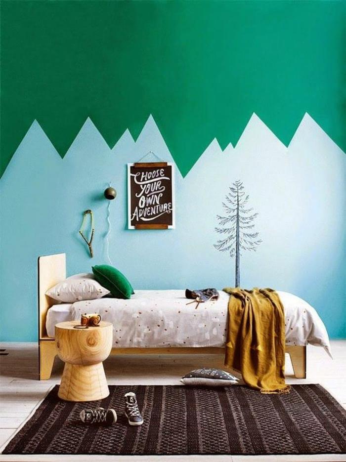 best chambre garcon marron et bleu images. Black Bedroom Furniture Sets. Home Design Ideas