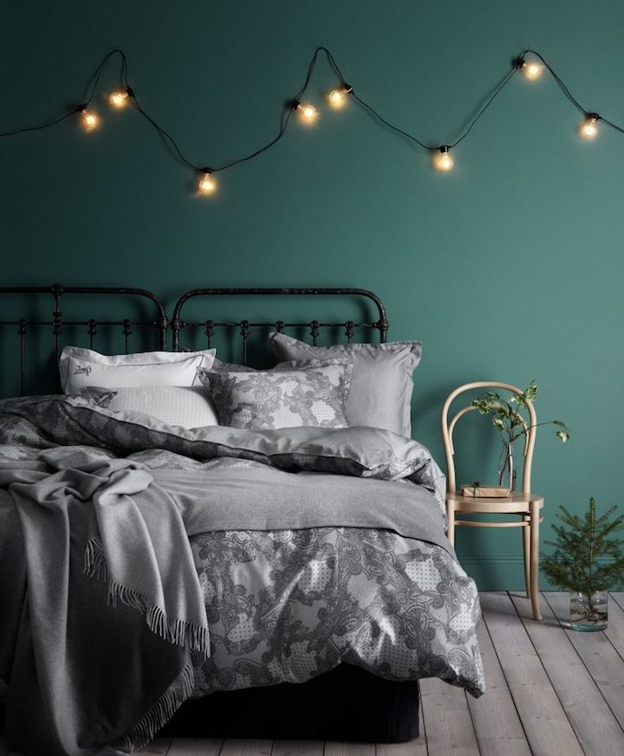 guirlande lumineuse bois interesting guirlande lumineuse tete de lit deco hippie tate de lit en. Black Bedroom Furniture Sets. Home Design Ideas