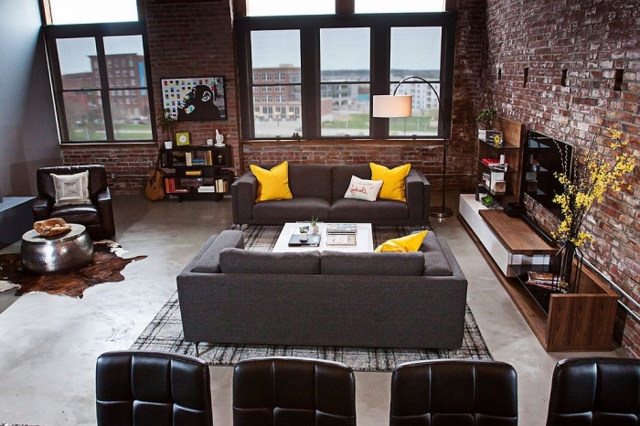 r ussir la d co du loft industriel l aide de nos conseils et 100 photos splendides obsigen. Black Bedroom Furniture Sets. Home Design Ideas